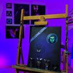 Toile Acrylique Pour Pins Phantom Manor 40x30 (avec ou sans pins) 100€ (+pins)
